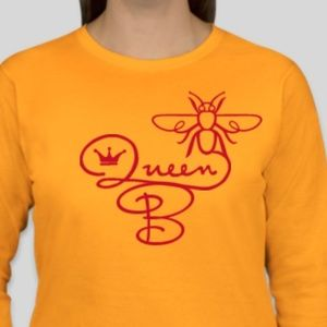 CUSTOM Queen Bee Ladies Tshirts